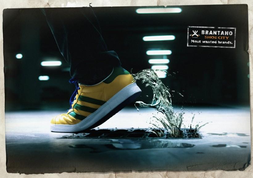 鞋的创意海报图片大全 第2张