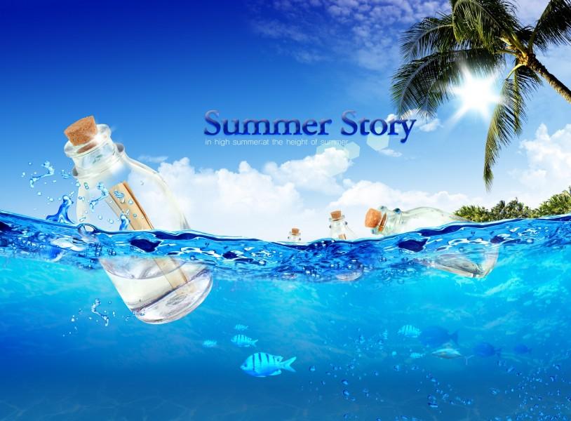 清凉夏天广告图片 第1张