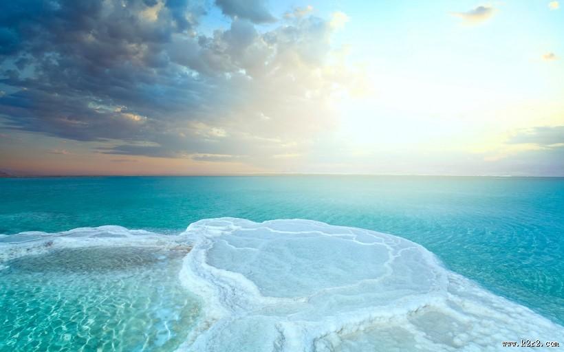 盐湖风景图片 第8张