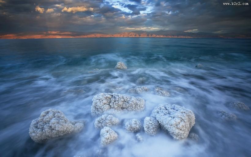 盐湖风景图片 第2张
